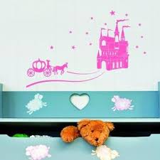 Shop Cinderella Wall Decal On Wanelo