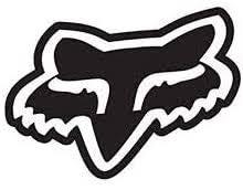Amazon Com Maf Fox Racing Logo Vinyl Decal Die Cut Sticker 6 Wide Black Colour Automotive