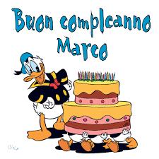 Buon Compleanno Marco | Buon compleanno, Immagini di buon ...
