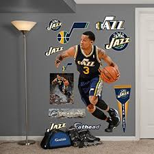 Nba Utah Jazz Trey Burke Fathead Wall Decal Real Big Amazon In Home Kitchen