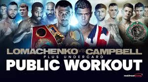 Vasiliy Lomachenko vs Luke Campbell ...