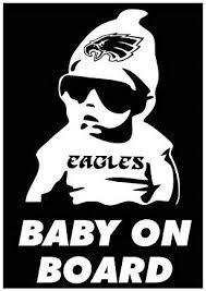 Celycasy Philadelphia Eagles Baby On Board Super Bowl 52 Car Truck Window Vinyl Decal Bumper Sticker Amazon Ca Home Kitchen