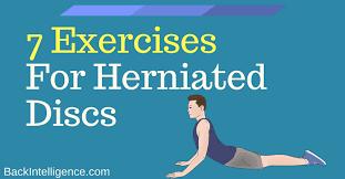 herniated disc exercises for lower back