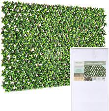 Amazon Com Natrahedge Artificial Ficus Leaf Expandable Lattice Home Kitchen