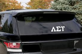 Lambda Sigma Upsilon Decal For Car Laptop Or Anywhere Vinyl Decal Greek Apparel And Hobbies