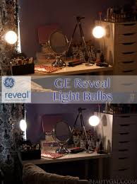 vanity lighting makeover with ge reveal