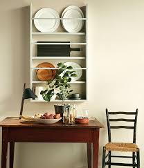 diy wall mounted plate rack house home