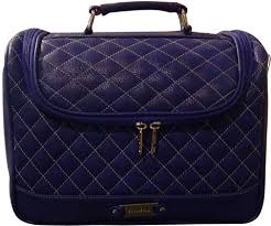 kudos base makeup vanity case blue
