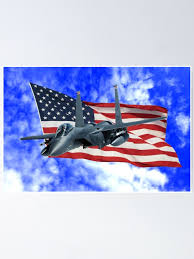 F 15e Strike Eagle Poster By Flyoff Redbubble