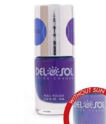 blueberry to plum nail polish