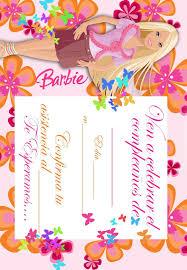 Imprimir Gratuitamente Tarjetas De Invitacion Con El Tema De