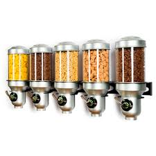 wall mounted dry food dispenser h50m