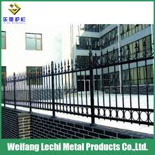 China High Security Rust Assitance Cast Iron Decorative Metal Garden Border Fence China Fence Secturity