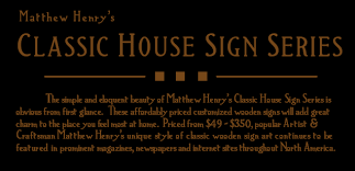 personalized house signs for bungalows