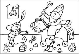 Puk Als Sinterklaas Sinterklaas Knutselen Sinterklaas Kleurplaten