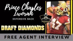 Meet Free Agent defensive back Prince Charles Iworah