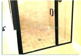 hard water stains off shower doors