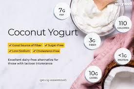coconut yogurt nutrition facts