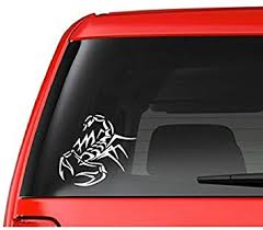 Amazon Com Tribal Scorpion A6 Vinyl Decal Sticker Car Truck Laptop Netbook Window Automotive
