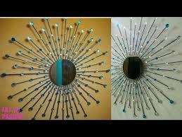 diy sunburst mirror diy wall hanging