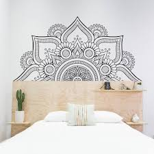 Flower Mandala Wall Decal Kuarki Lifestyle Solutions