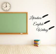 Literature Vinyl Decal Classroom Decal Wall Decal Etsy Vinyl Wall Decal Quote Room Decals Vinyl Wall Decals