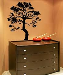 Vinyl Wall Decal Sticker Bonsai Tree Ac149 Stickerbrand