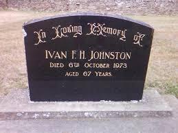 Ivan Frederick Houliston Johnston (1906 - 1973) - Genealogy