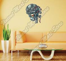 Robot Skull Angry Terminator Robocop Wall Sticker Room Interior Decor 20 X25 For Sale Online