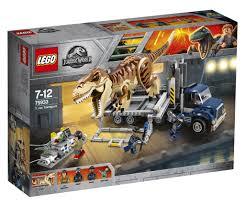 LEGO Reveals Final Jurassic World Set T. Rex Transport 75933   Lego  jurassic world, Lego jurassic, Lego jurassic park