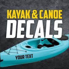 Custom Kayak Decals Kayak Decals Custom Canoe Decals Etsy