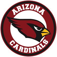 Arizona Cardinals Circle Logo Vinyl Decal Sticker 5 Sizes Sportz For Less