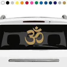 Aum Om Symbol Sign Yoga Buddhism Spiritual Rear Window Decal Car Truck Laptop V4 Ebay