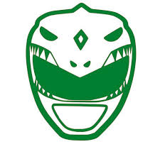 Mighty Morphin Power Rangers Green Ranger Vinyl Decal For Car Home Ye Ftw Custom Vinyl