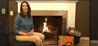 fire with a duraflame firestarter