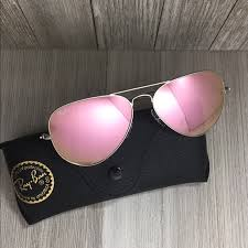 ray ban aviator sunglasses rb3025pink