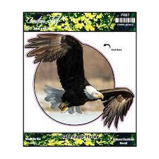 Bald Eagle Flying Vinyl Decal
