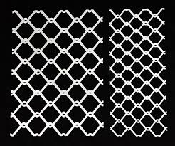 Wire Fence Stencil Small And Large
