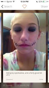 easy zombie makeup tutorial by