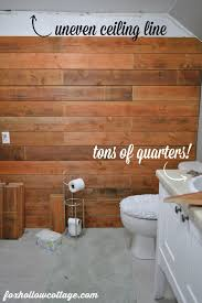 Fence Board Planked Wall How To Fox Hollow Cottage