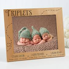 picture frames for triplets