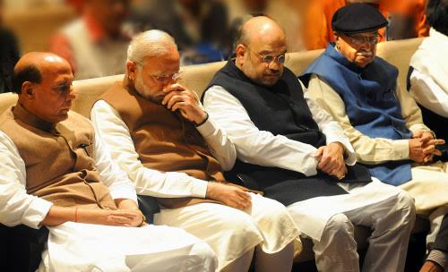 Image result for narendra modi and amit shah indiatimes""