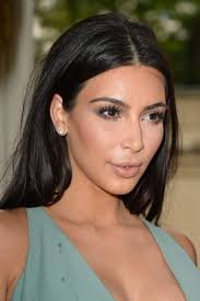 kim kardashian makeup look you