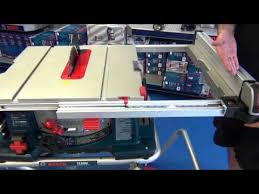 Bosch 4100 4100 09 Tablesaw Youtube