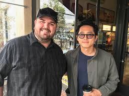 I met Steven Yeun on my lunch break today! : thewalkingdead