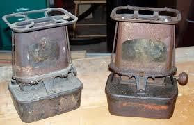 kerosene stoves and lanterns