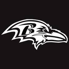 7 Nfl Baltimore Ravens Football Sticker Truck Car Window Vinyl Decal Ushirika Coop