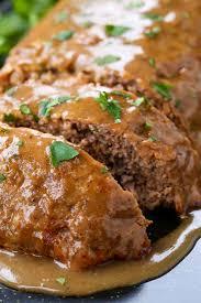 brown gravy meatloaf the best