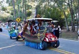 fort wilderness halloween golf cart