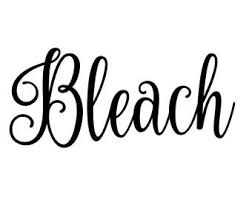 Bleach Decal Etsy